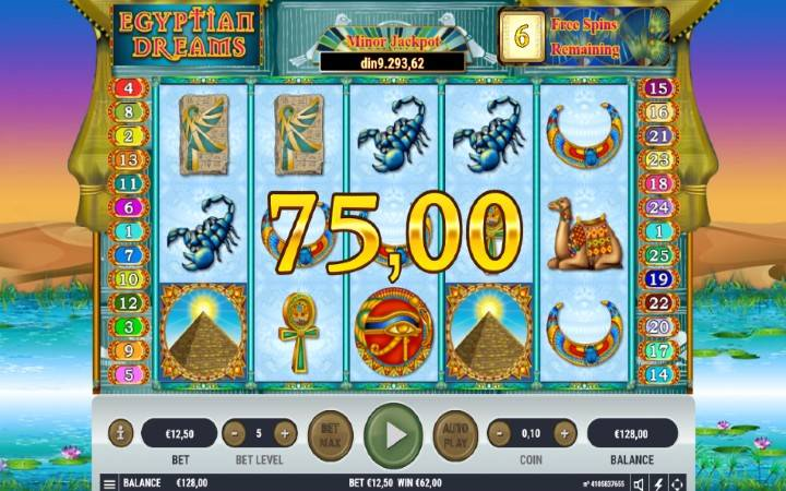 Besplatni Spinovi, Online Casino Bonus, Egyptian Dreams