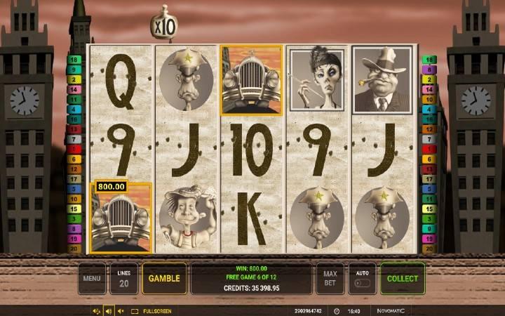 Besplatni spinovi, Chicago, Online Casino Bonus