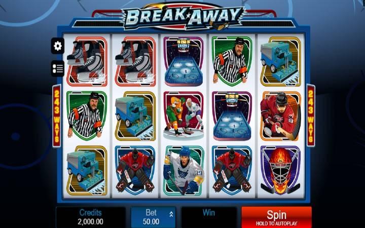 Break Away, Top 5 video slotova inspirisanih sportskom tematikom, online casino bonus