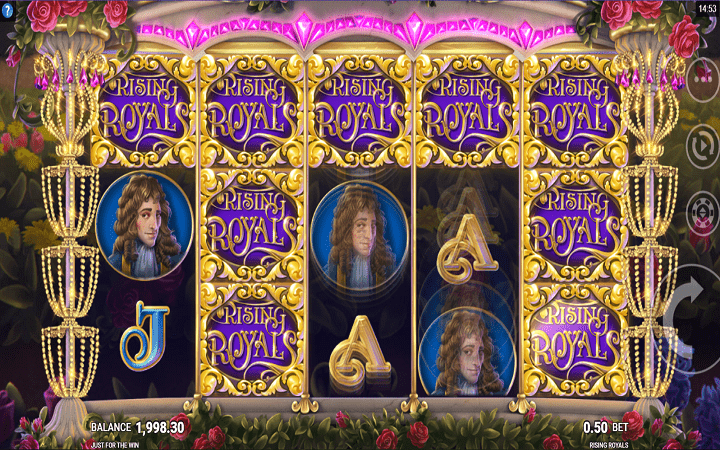 Rising Royals, Microgaming, Online Casino Bonus