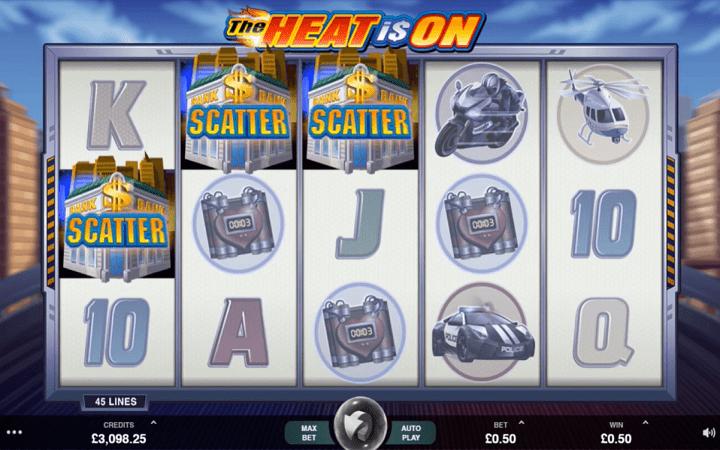 The Heat is On, Microgaming, Online Casino Bonus