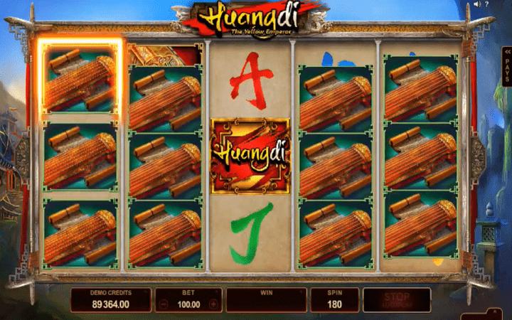 Huangdi – Yellow Emperor, Microgaming, Online Casino Bonus