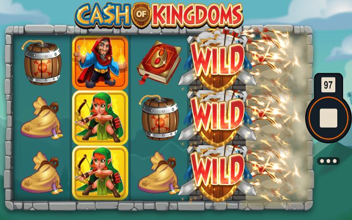 Cash of Kingdoms, Microgaming, Online Casino Bonus