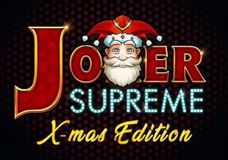 Joker Supreme X-Mas Edition sprema odlične poklone!
