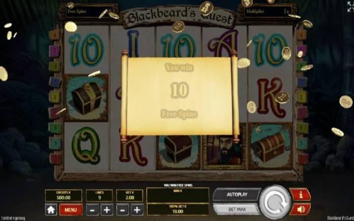 Besplatni Spinovi, Online Casino Bonus, Blackbeards Quest