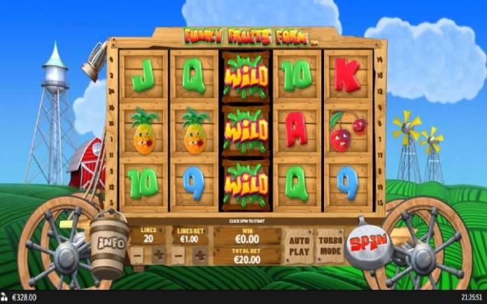 Funky Fruits Farm, Playtech, Online Casino Bonus