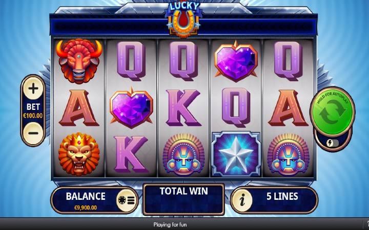 Lucky U, Online Casino Bonus, Playtech