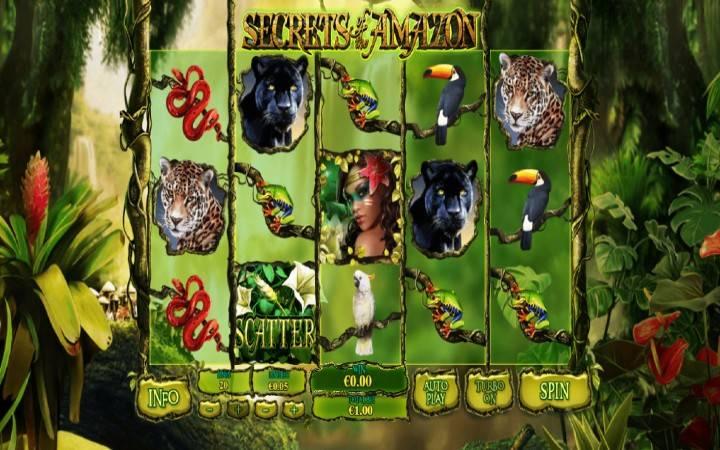 Secrets of the Amazon, Playtech, Online Casino Bonus