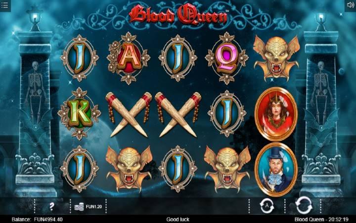 Blood Queen, Horor, Online Casino Bonus, Iron Dog