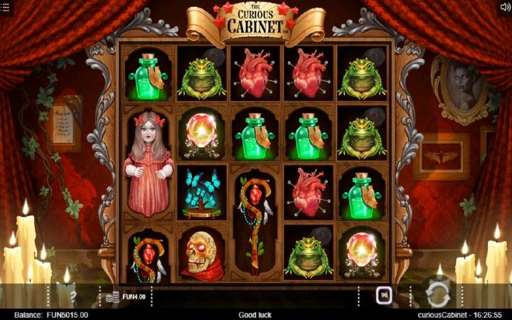The Curious Cabinet, Online Casino Bonus, Iron Dog