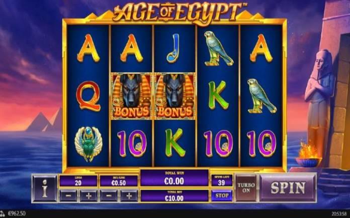 Age of Egypt, Playtech, Online Casino Bonus