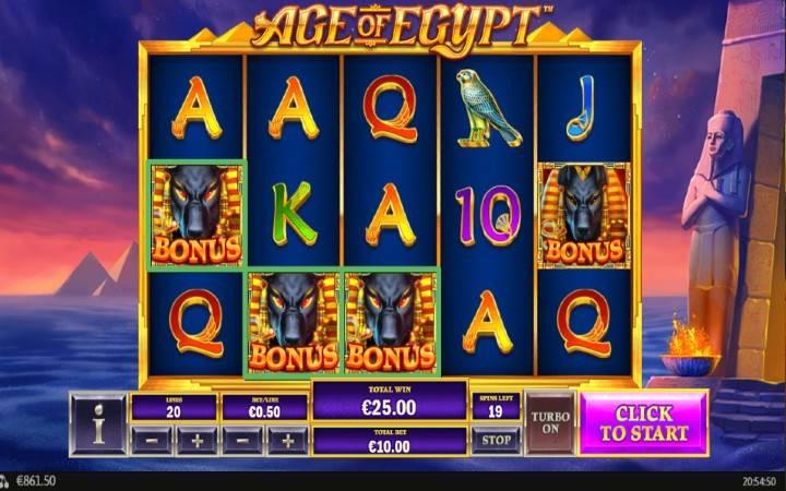 Anubis Bonus, Online Casino Bonus, Playtech