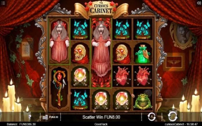 Lutka, Horor, Online Casino Bonus, The Curious Cabinet