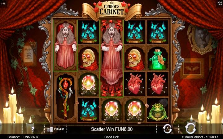 Lutka, Horor, Online Casino Bonus, The Curious Cabinet