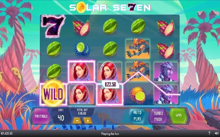 Džoker, Online Casino Bonus, Solar Seven