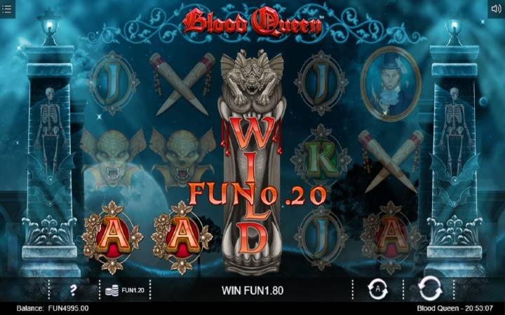 Džoker, Online Casino Bonus, Iron Dog, Blood Queen