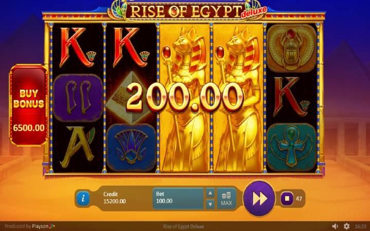 Džokeri, Online Casino Bonus, Rise of Egypt Deluxe