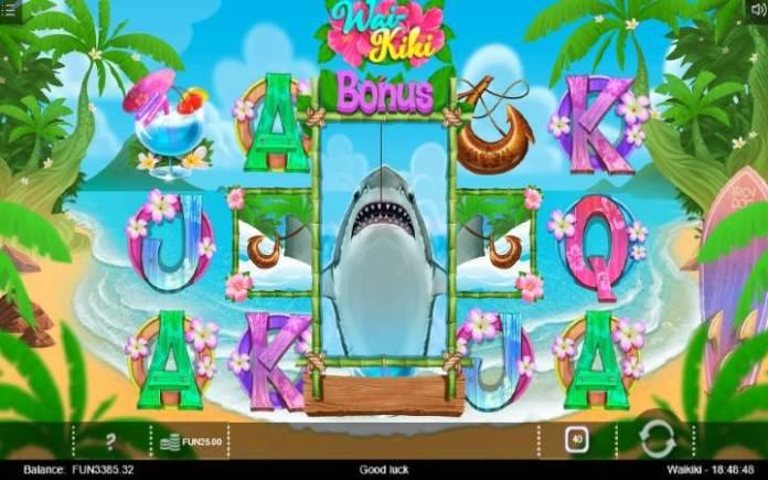 Shark Fishing Bonus, Online Casino Bonus, Wai Kiki