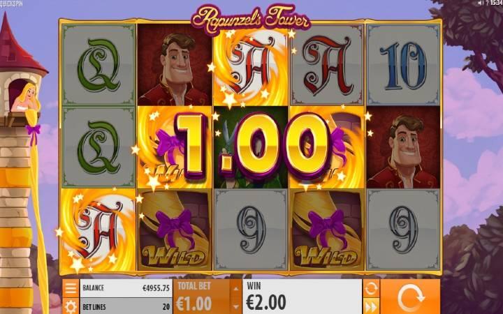 Respin, Respin Wild, Rapunzels Tower, Online Casino Bonus