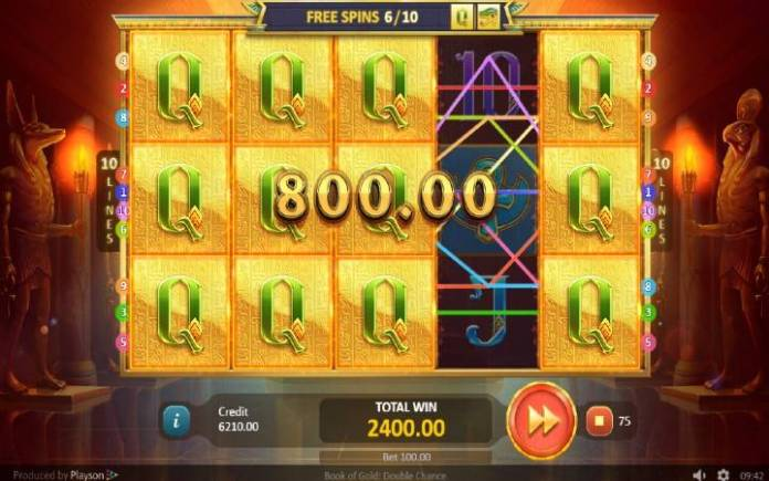 Besplatni Spinovi, Online Casino Bonus, Book of Gold: Double Chance