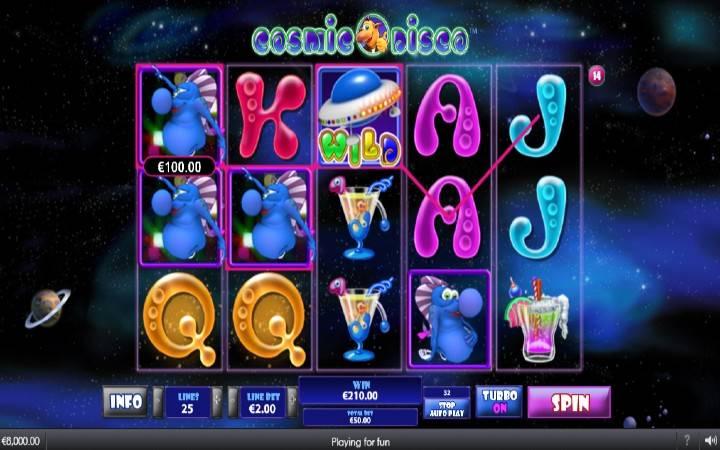 Džoker, Online Casino Bonus, Cosmic Disco