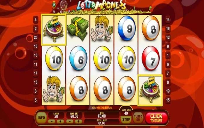 Besplatni Spinovi, Online Casino Bonus, Lotto Madness