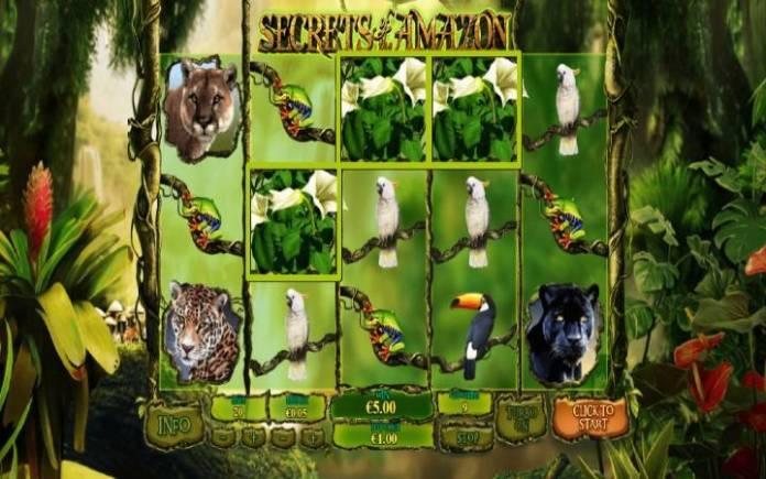 Secrets of the Amazon, Online Casino Bonus, Besplatni Spinovi