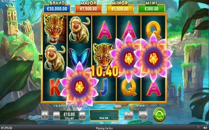 Besplatni Spinovi, Frogs Gift, Online Casino Bonus
