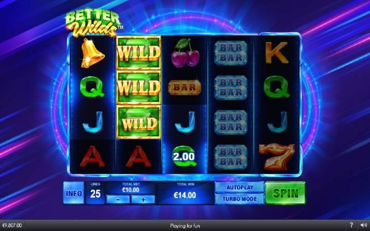 Online Casino Bonus, Džoker, Better Wilds