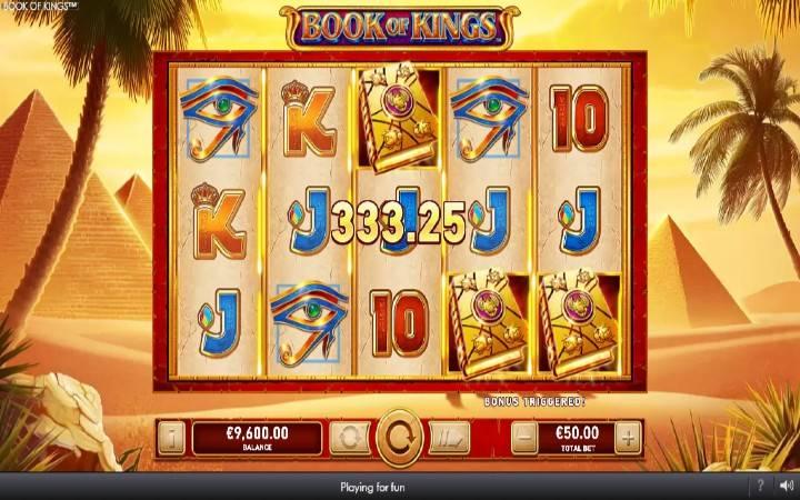 Besplatni Spinovi, Online Casino Bonus, Book of Kings
