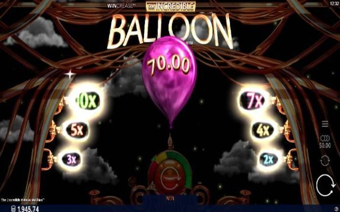 Multiplikatori, Online Casino Bonus, The Incredible Balloon Machine