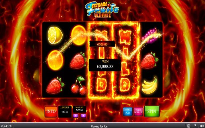 Online Casino Bonus, Extreme Fruits Ultimate