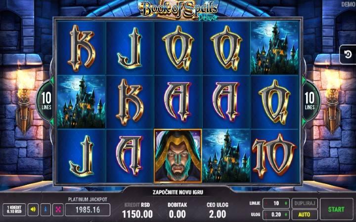Book of Spells Deluxe, Veliki Dobitak, Online Casino Bonus, Nikola doživeo trenutak čarolije.
