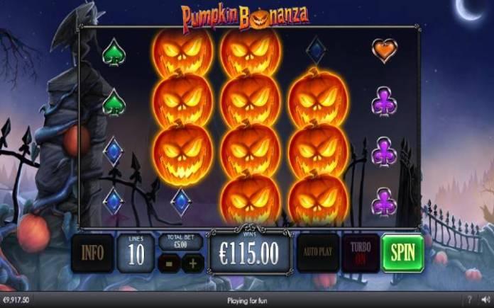Bonanza Spin, Online Casino Bonus, Pumpkin Bonanza