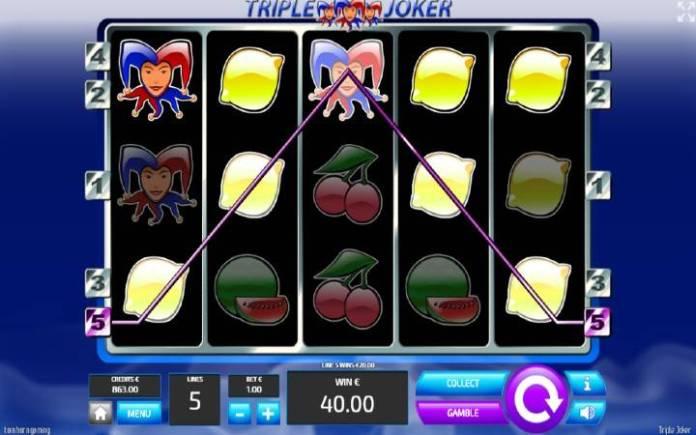 Džoker, Online Casino Bonus, Tripple Joker