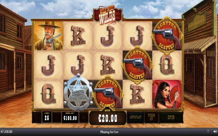 Besplatni Spinovi, Online Casino Bonus, WIld West Wilds
