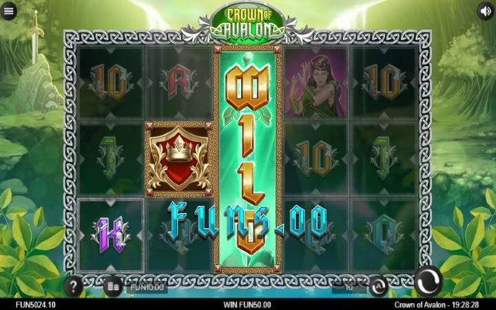 Džokeri, Crown of Avalon, Online Casino Bonus