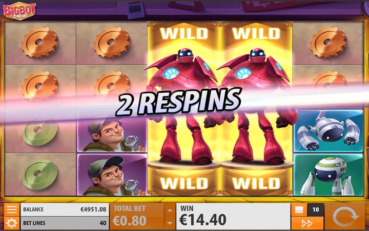 Big Bot Crew, Playtech, Quickspin, Online Casino Bonus