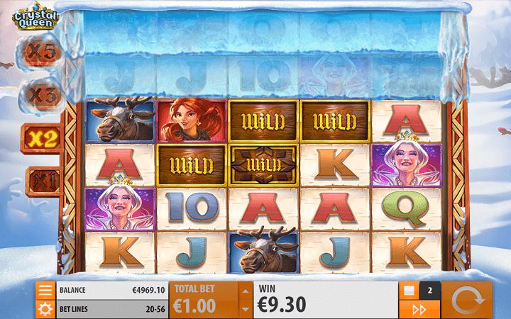 Crystal Queen, Quickspin, Playtech, Online Casino Bonus