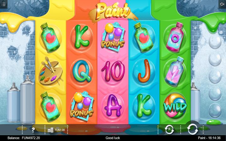 Paint, Iron Dog, Online Casino Bonus