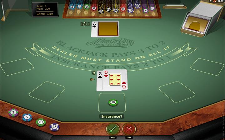 Atlantic City Blackjack Gold, Microgaming, Online Casino Bonus