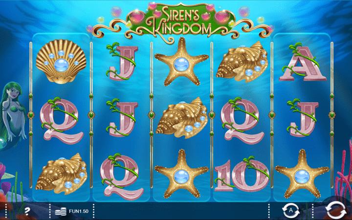 Sirens Kingdom, Iron Dog, Online Casino Bonus