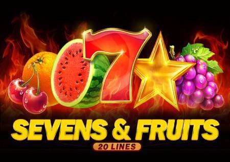 Sevens and Fruits: 20 lines – klasičan slot koji oduševljava