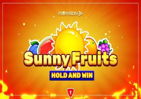 Sunny Fruits: Hold and Win – sunčevi zraci i tri džekpota