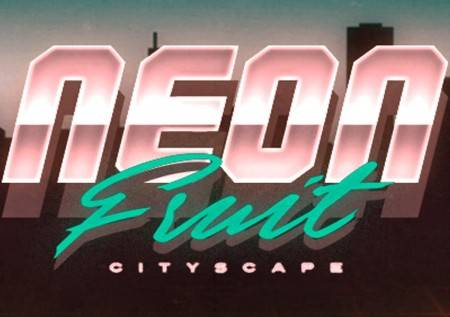 Neon Fruit Cityscape – klasik obasjan neonskim sjajem