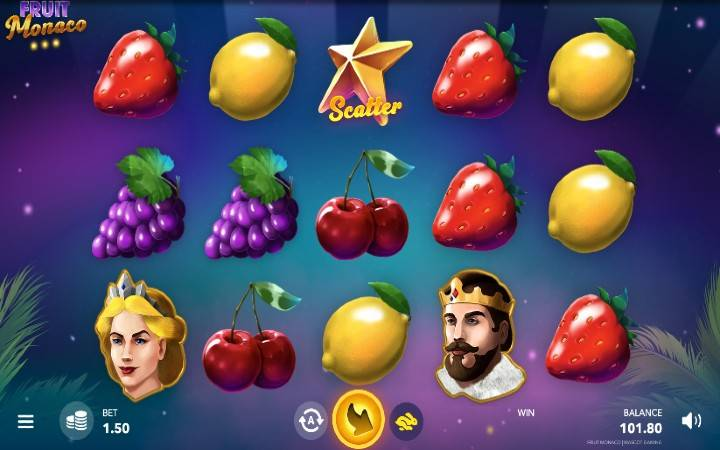 Fruit Monaco, Online Casino Bonus, Game Art
