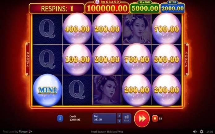 Bonus, Online Casino Bonus, Pearl Beauty: Hold and Win