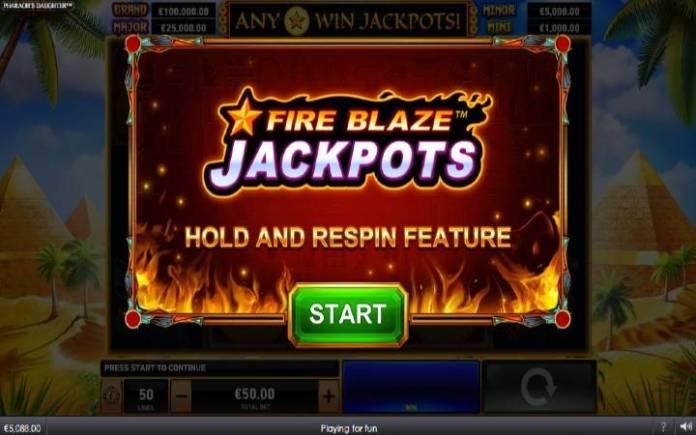 Online Casino Bonus, Bonus Igra, Fireblaze: Pharaohs Daughter