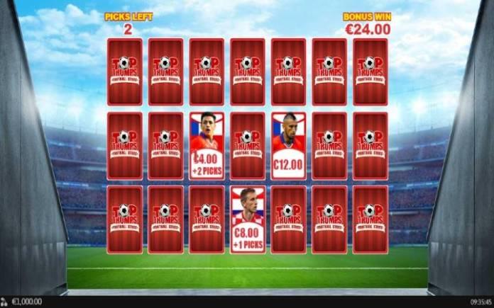 Bonus Funkcija, Online Casino Bonus, Sporting Legends; Top Trumps Football Stars