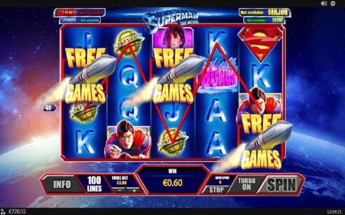 Besplatni Spinovi, Online Casino Bonus, Superman